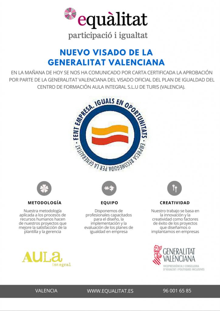 NUEVO VISADO DE LA GENERALITAT VALENCIANA-2