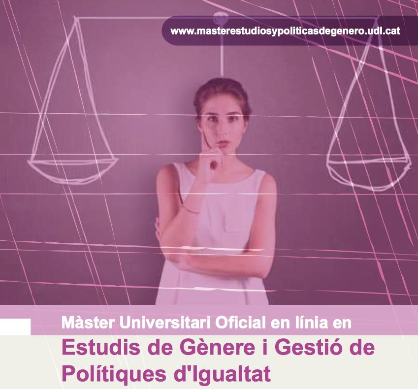 Màster Universitari d'Estudis de Gènere i Gestió de Polítiques d'Igualtat